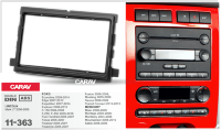 Рамка CARAV 11-363 (2-DIN для а/м FORD Econoline 2009-14; Edge 2007-10; Expedition 2007-14